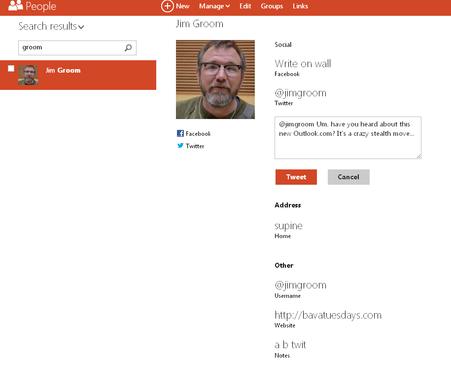Microsoft's New Site Outlook com Organizes All Your Social